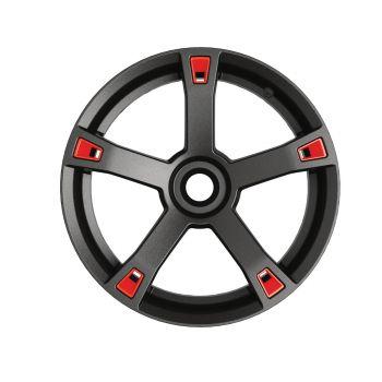 Embellecedores para ruedas - Rojo adrenalina