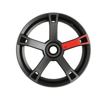 Adhesivos para ruedas - Rojo adrenalina