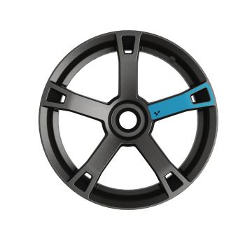 Adhesivos para ruedas - Azul bruma