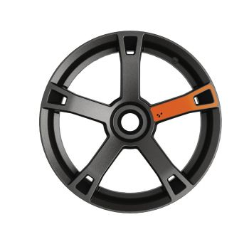 Adhesivos para ruedas - Naranja fuego