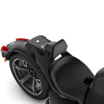 Respaldo para conductor monoplaza