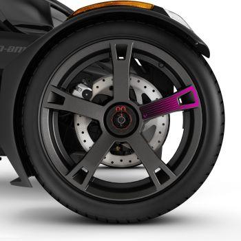 Adhesivos para ruedas - Rosa punk