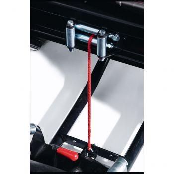 Cable sintético de cabrestante para pala de trabajo