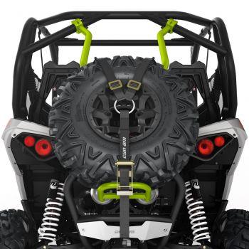 Soporte de rueda de repuesto estilo Baja