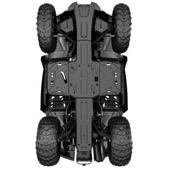 Protectores de chasis inferior de HMWPE