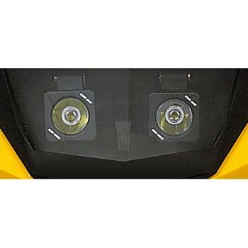 Iluminación auxiliar de parabrisas