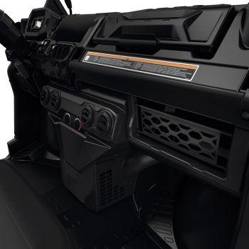 Red de compartimento de almacenamiento en tablero para sistema de calefacción