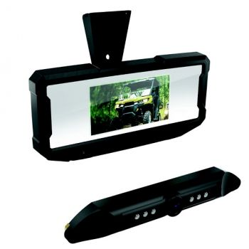 Rear View Mirror & Camera Monitor