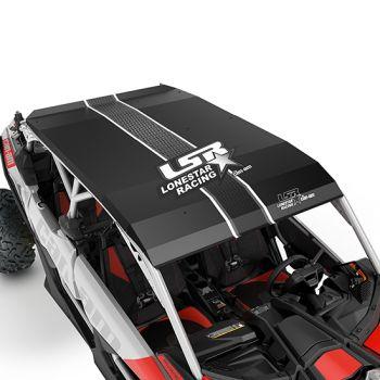Lonestar Racing Aluminum Roof - Black